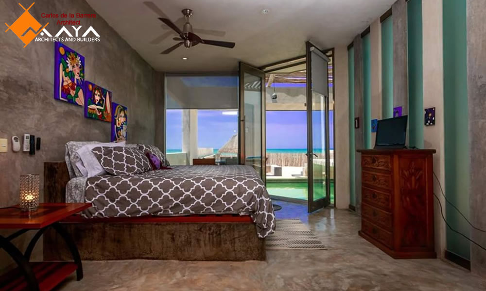Casa de Playa Chuburna Puerto, Design of House on Yucatan Beach, Maya DBN Architects and Builders