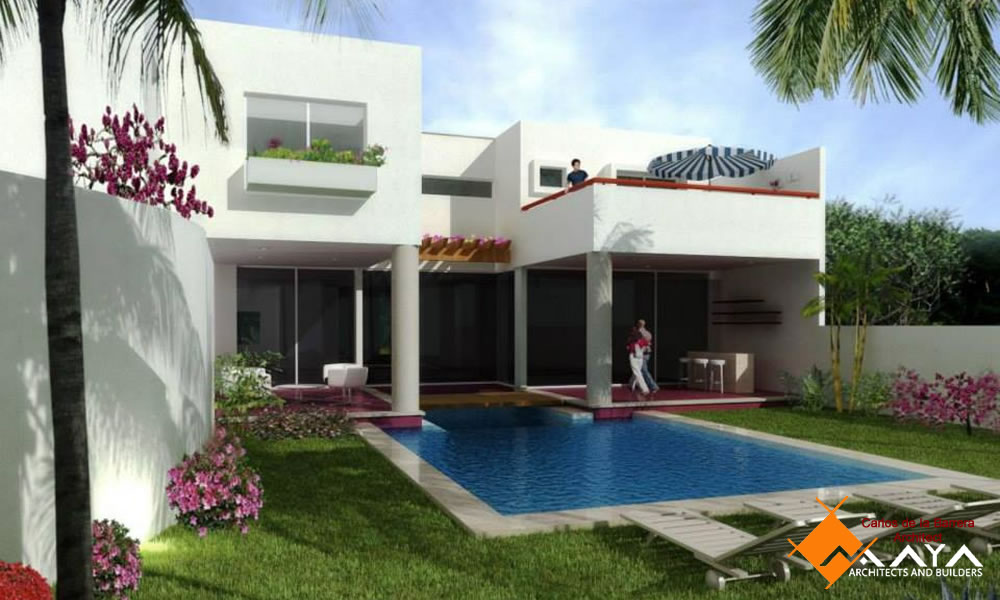 Casa Montebelo, Design of House in Merida, Maya DBN Architects and Builders