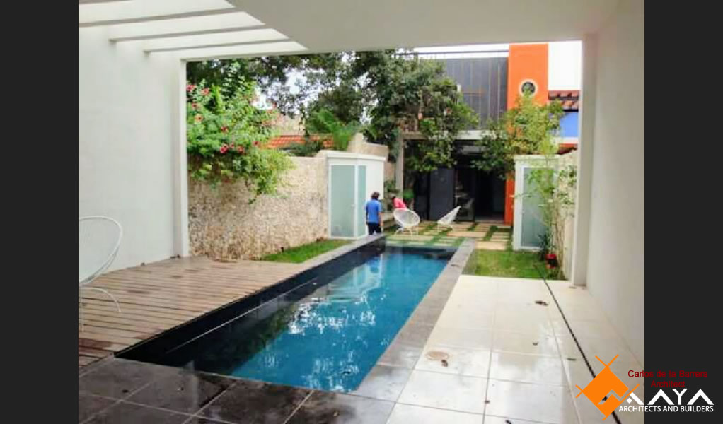 Casa Santiago Calle 53, Restoration of House in Merida Yucatan Maya DBN Architects and Builders