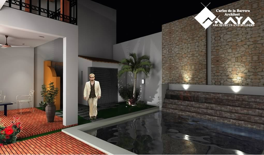Casa Santiago Calle 57, Restoration of House in Merida Yucatan Maya DBN Architects and Builders