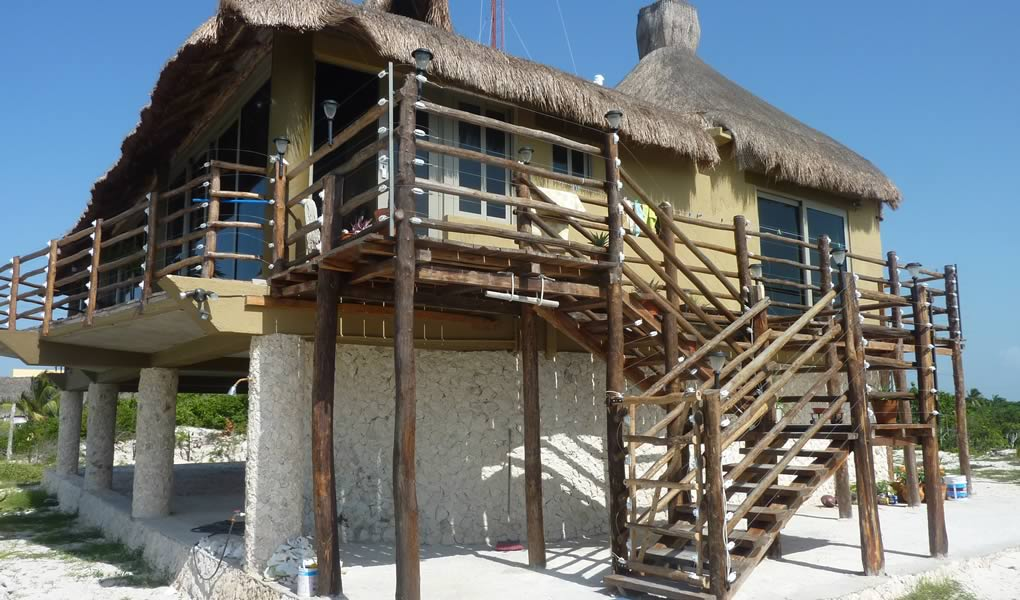 Casa Soleada, Design and Construction of Beach House in Yucatan Maya DBN Architects and Builders