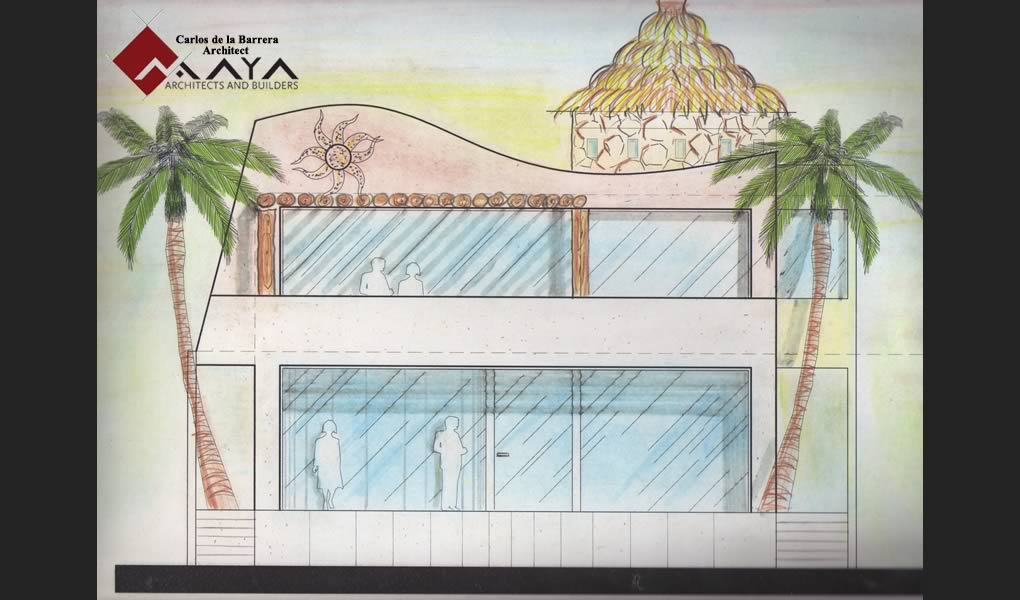 Casa Uaymitun, Design and Construction of Beach House in Yucatan, Maya DBN Architects and Builders